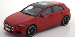 2018 Mercedes-Benz A Klasse (Rood) 1/18 Norev
