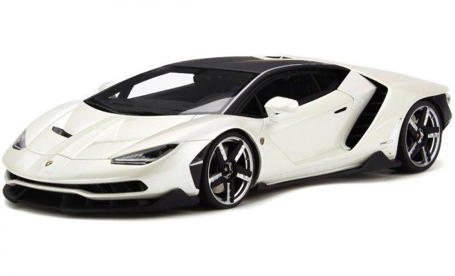 Verschillende Lamborghini model auto's