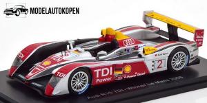 Audi R10 TDI – Winner Le Mans 2008 (Zilver)