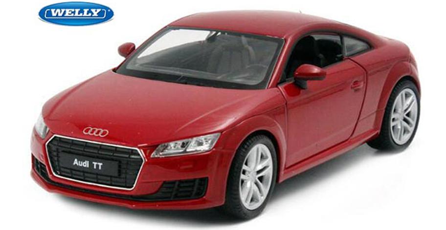 Audi TT Coupé 2014 (Rood)