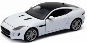 Jaguar F-Type Coupe (Wit) 1/24 Welly