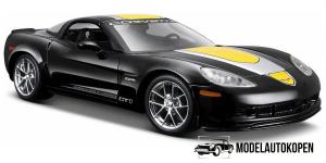 Chevrolet Corvette Z06 GT1 (Zwart/Geel) 1/24 Maisto