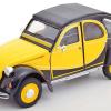 Citroën 2CV 6 Charleston (Geel/Zwart) 1/24 Welly