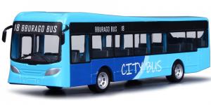 City Bus (Blauw) 19cm Bburago