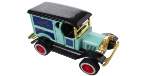 Classic Car Metal Pull back VIP (Lichtblauw) 12 cm Toi-Toys