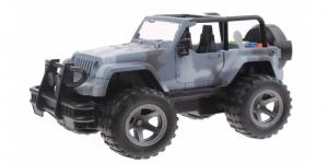 Cross Country Off-Road Jeep met Licht en Geluid (Grijs) 21 cm Toi Toys
