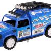 Desert Racer Metal Friction met licht & geluid (Blauw) 25 cm Toi Toys