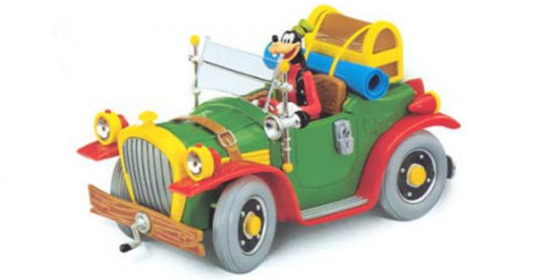 Walt Disney modelauto's collectie