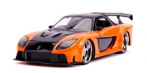 Han's Mazda RX-7 (Fast & Furious) (Oranje/Zwart) 1/24 Jada