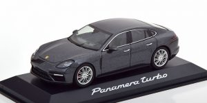 Porsche Panamera Turbo (Donkergrijs) 1/43 Minichamps