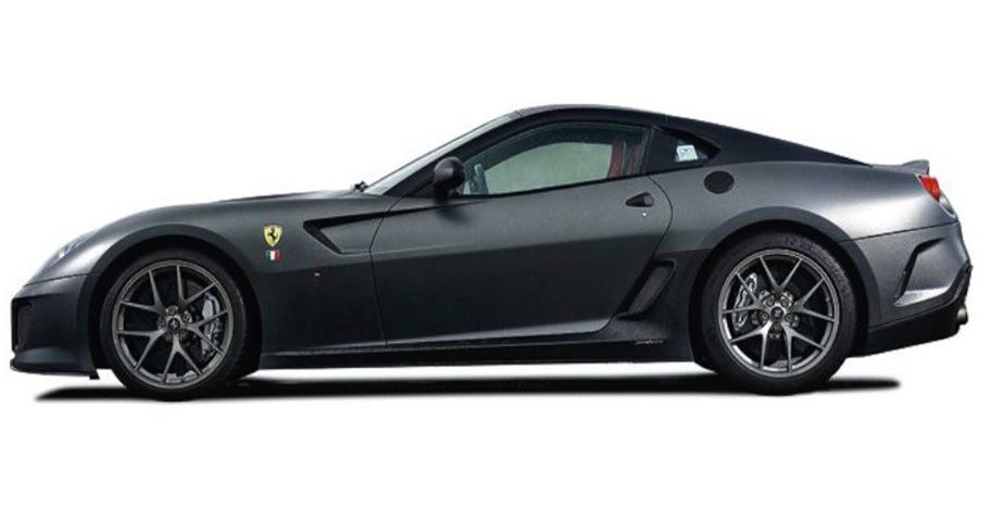Ferrari 599 GTO (Grijs)
