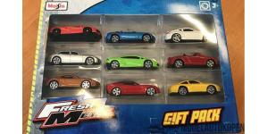 Fresh Metal Gift Pack Maisto (9 Diverse modellen)