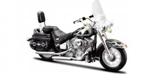 Harley Davidson FLSTC Heritage Softail Classic 2002 (Zwart)