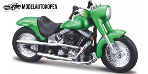 Harley Davidson FLSTF Street Stalker (Groen)