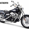 Harley Davidson FXDBI Dyna Street Bob 2006 (Donkerblauw