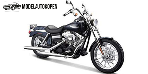 Harley Davidson FXDBI Dyna Street Bob 2006 (Donkerblauw)