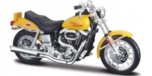Harley Davidson FXS Low Rider 1977 (Geel)