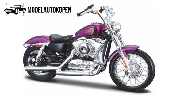 Harley Davidson XL 1200V Seventy-Two 2013 (Paars)