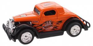 Hot Rod Auto Metal Pull Back (Oranje) 9 cm Toi Toys