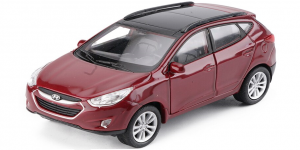 Hyundai Tucson IX35 (Rood) 1/43 Welly