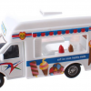 Ice Cream Truck Metal Pull Back (Wit) 12 cm Toi-Toys