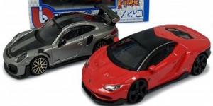 Lamborghini Centenario & Porsche 911 GT (Modelauto Set) 1/43 Bburago
