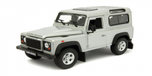Land Rover Defender (Zilver) 1/43 Welly