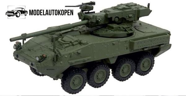 M1128 Stryker MGS Amerikaans Leger Tank Die Cast 1/72