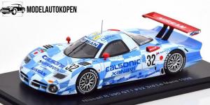 Nissan R 390 GT1 #32 3rd Le Mans 1998 (Blauw)