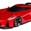 Nissan Vision Gran Turismo 2020 Concept (Rood) 1/32 Maisto