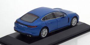 Porsche Panamera 4S (Blauw) 1/43 Minichamps