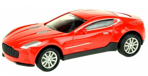 Street Race Superauto Metal Pull Back (Rood) 1/43 Toi-Toys
