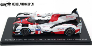 Toyota TS050 Hybrid - 8th Le Mans 2017 (Wit)