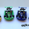 Turbo Racers Kart Auto Set 4 stuks