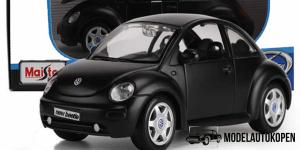 Volkswagen New Beetle (Mat Zwart) 1/24 Maisto