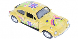Volkswagen Beetle (Geel) 1/43 Welly