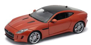 Jaguar F-Type Coupe (Brons) 1/43 Welly