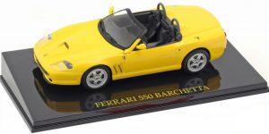 Ferrari 550 Barchetta (Geel) 1/43 Atlas