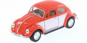 1967 Volkswagen Classic Beetle (Oranje) 1/36 Kinsmart