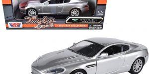 Aston Martin DB9 Coupe (Zilver) 1:24 Motor Max
