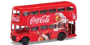 Coca-Cola Christmas London Bus 1/43 Corgi
