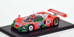 Mazda 787B #55 Winner Le Mans 1991 (Groen/Oranje) 1/43 Spark