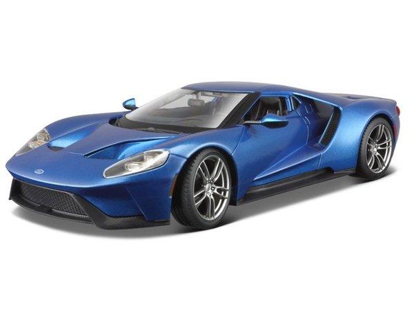 Ford GT 2017 (Blauw) 1/18 Maisto
