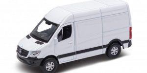 Mercedes-Benz Sprinter Bus (Wit) 1/43 Welly