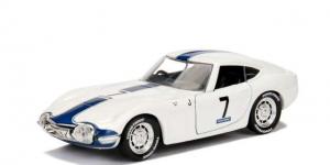 1967 Toyota 2000 GT #7 (Wit) 1/32 Jada