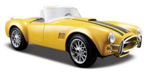 1965 Shelby Cobra 427 (Geel) 1/24 Maisto