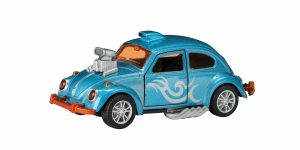 Hot Rod Kever Beetle Metal (Lichtblauw) Toi-Toys 13 cm