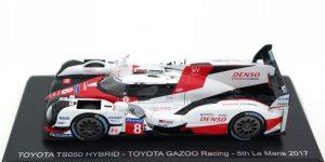 Toyota TS050 Hybrid - 8th Le Mans 2017 (Wit) 1/43 Spark