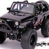 2007 Jeep Wrangler (Glimmend zwart) 1/18 Jada