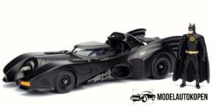 1989 Batman & Batmobile (Zwart) 1/32 Jada